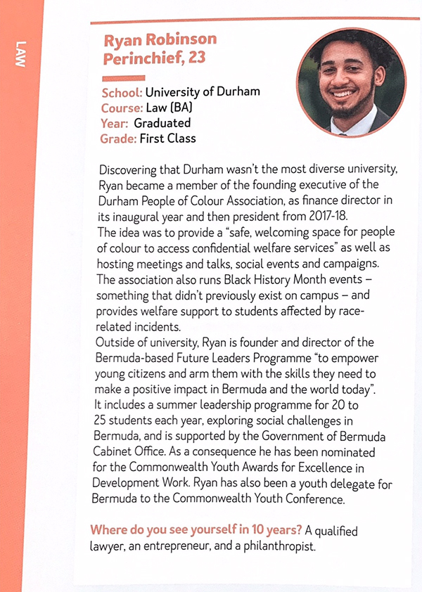 Future Leaders Magazine 2019-20 Bermuda Oct 14 2019 2