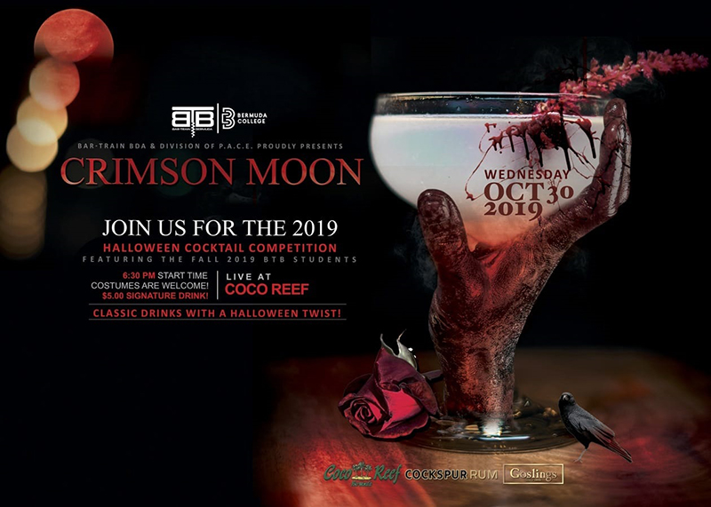 Halloween Cocktail Competition Bermuda Oct 2019