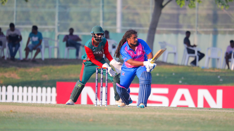ICC cricket Oct 2019 Bermuda vs Kenya 3r32