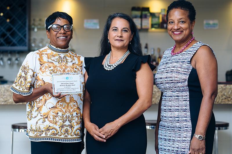 Information Commissioner's Award Bermuda Oct 2019 (3)