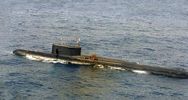 K-219 Submarine Bermuda Oct 2019