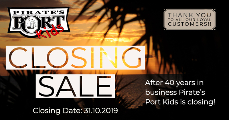 Pirates Port Kids Bermuda October 2019