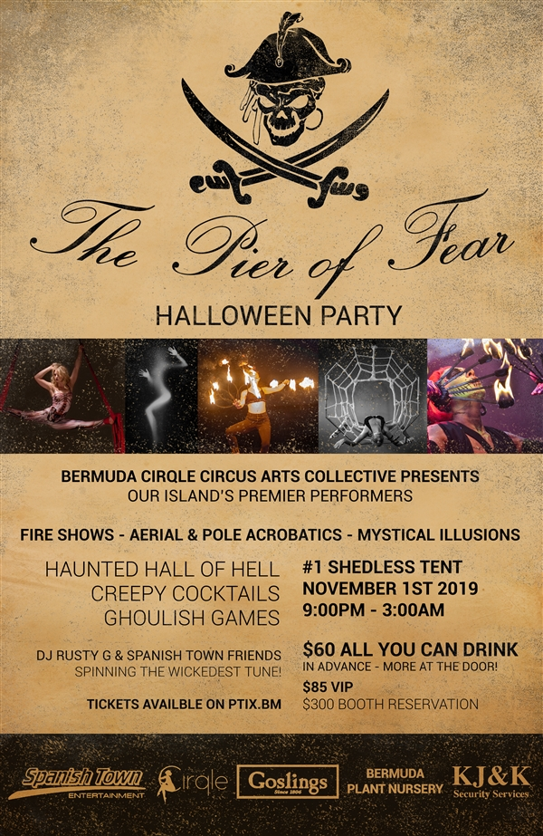 The Pier Of Fear Halloween Party Bermuda Oct 2019