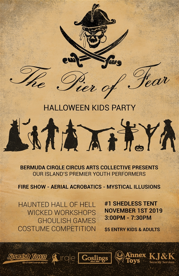 The Pier Of Fear Kids Halloween Party Bermuda Oct 2019