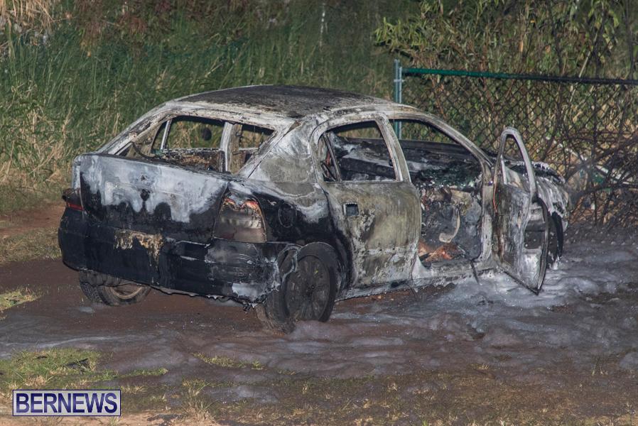 Vehicle Car Fire Bermuda, October 29 2019-0093