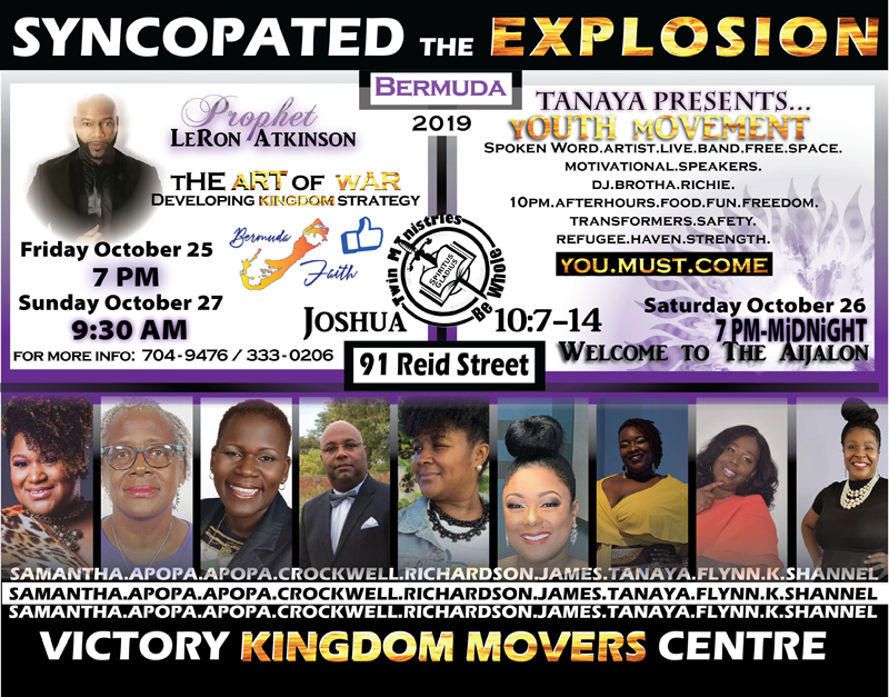 Youth Explosion Bermuda October 2019
