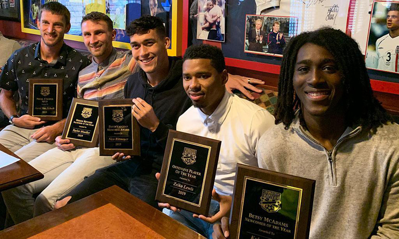 Zeiko Lewis Offensive Player of the Year October 2019