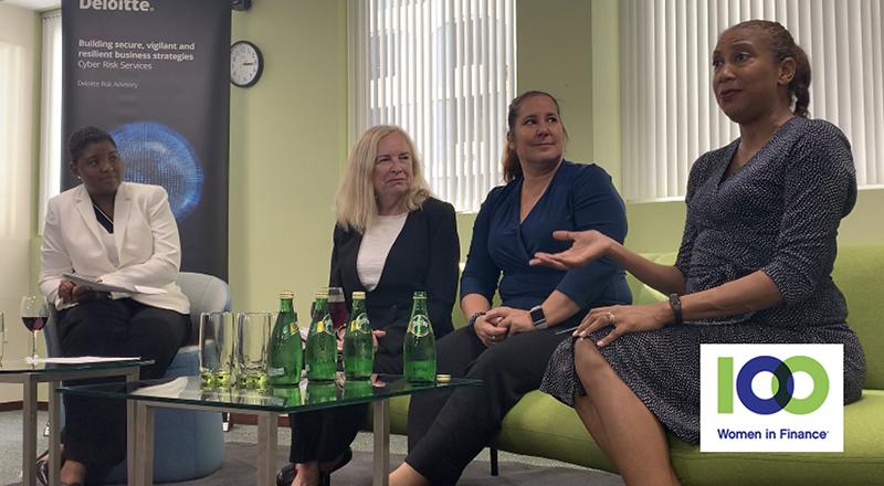 100 Women In Finance Panel Discussion Bermuda Nov 2019