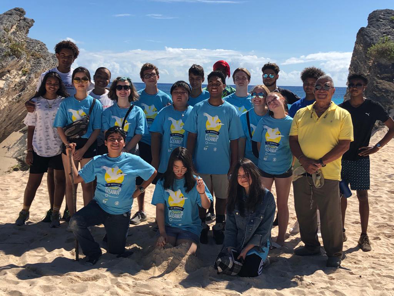 441Ocean Greenteam Future Leaders Beach Cleanup