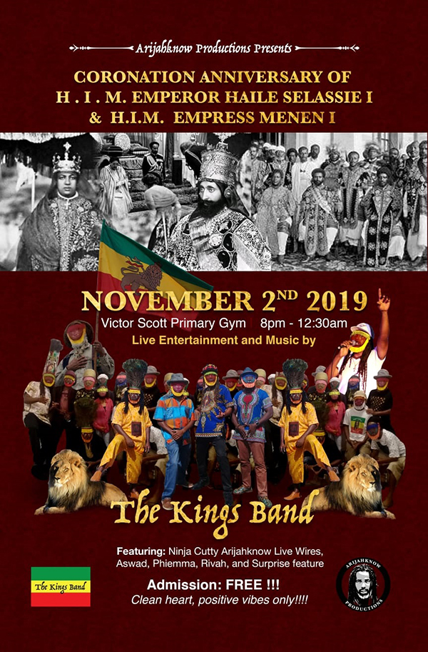 89th Coronation Of Emperor Haile Selassie Bermuda Nov 2019 (2)