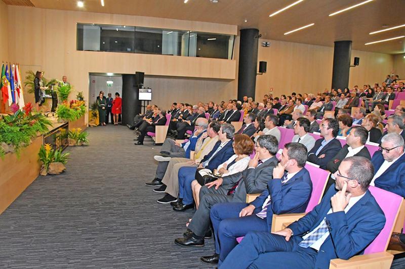 Audience at the Ponta Delgada FA gala Nov 2019