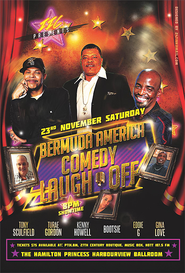 Bermuda America Comedy Laugh Off Nov 2019