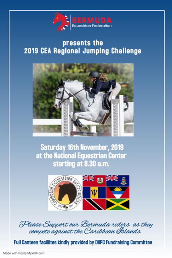 CEA Regional Jumping Challenge Bermuda Nov 2019