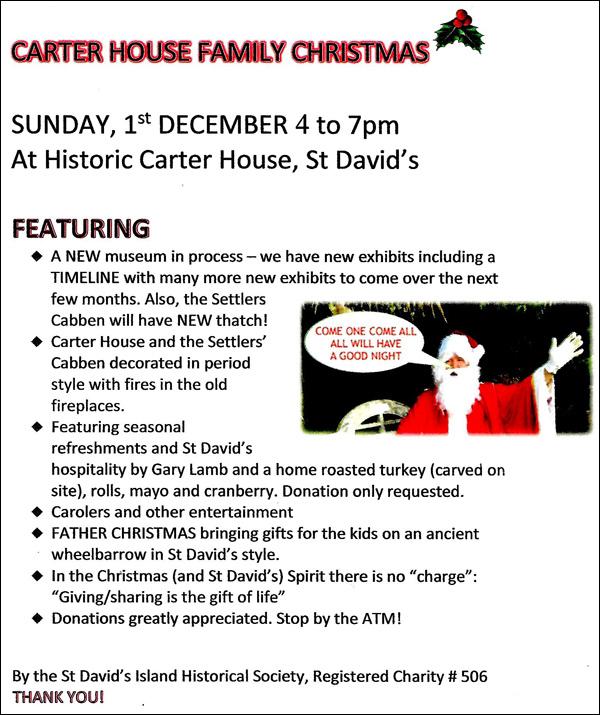 Carter House Family Christmas Bermuda Nov 2019