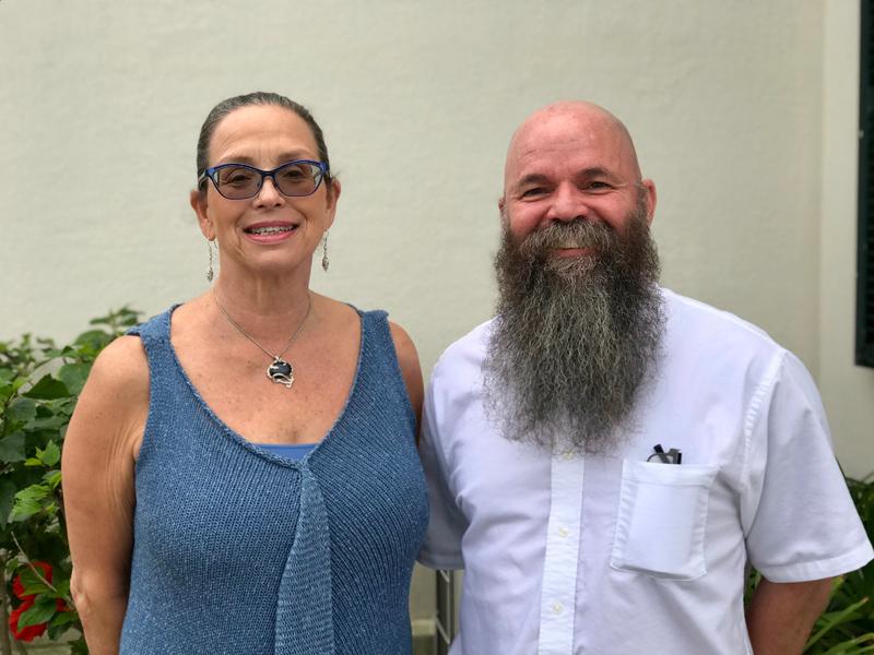 Clare Mello and Glenn Faries Bermuda Nov 2019