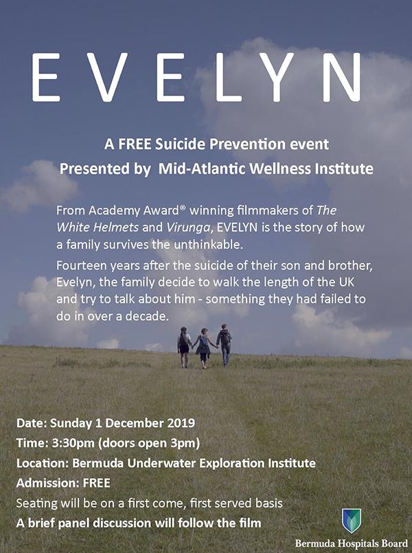 Evelyn Suicide Prevention Event Bermuda Nov 2019 (1)