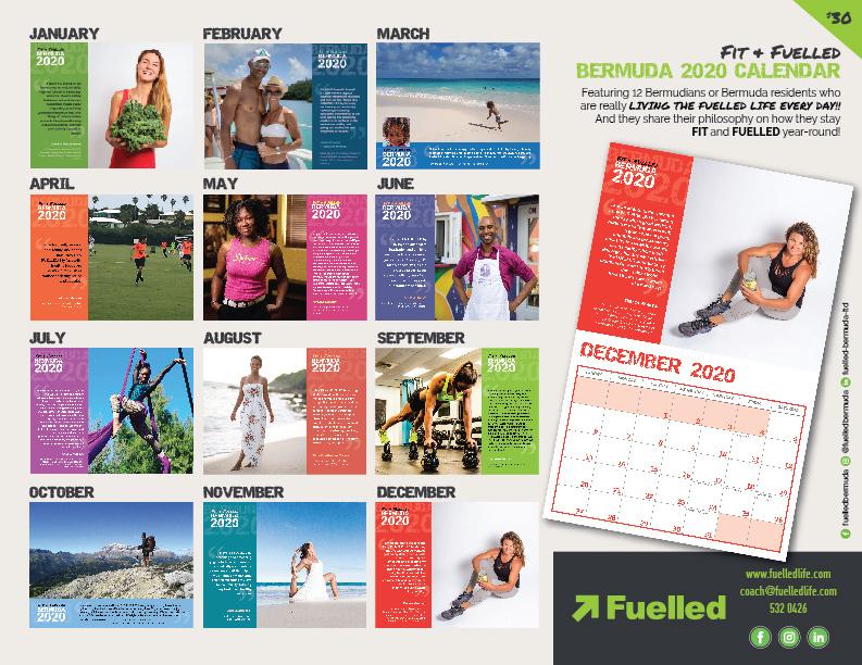Fuelled calendar front.back