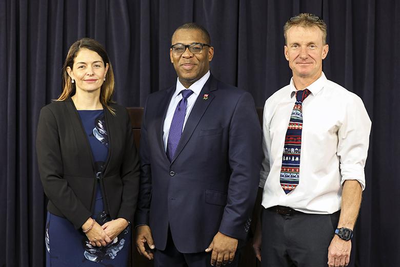 Home Affairs Slate Cutting Bermuda Nov 2019