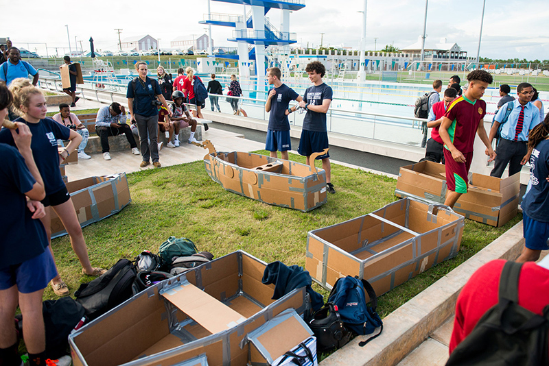 IBA-BAPE-Cardboard-Boat-Challenge-Bermuda-Nov-16-2019-54