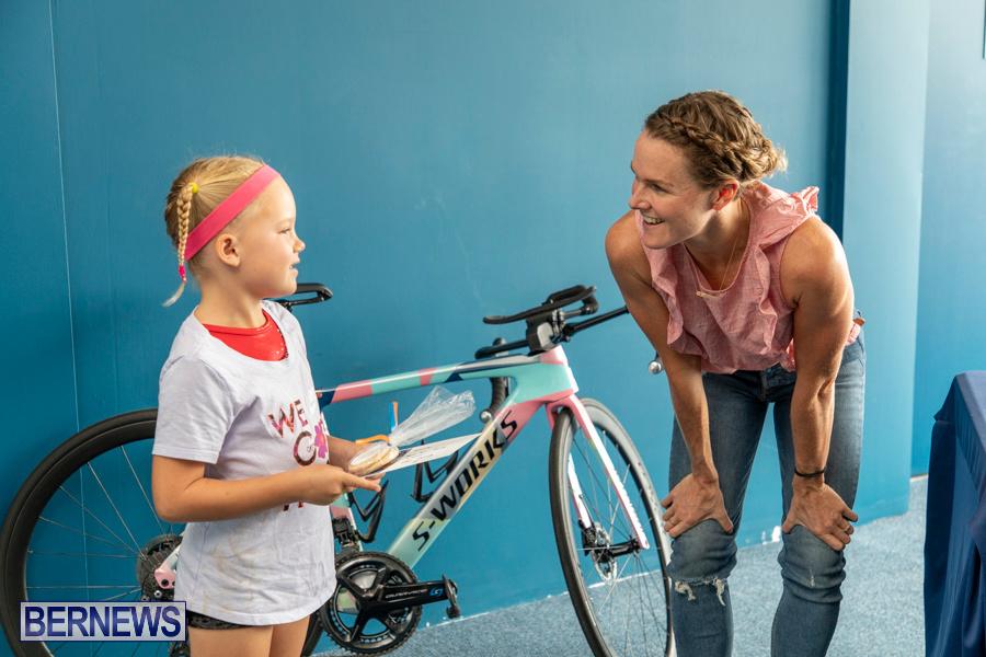 Iron Kids Card Signing triathlon champion Flora Duffy Bermuda, November 16 2019-2280