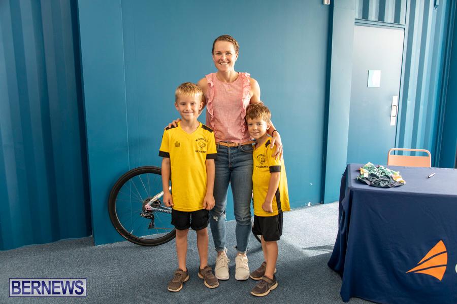 Iron Kids Card Signing triathlon champion Flora Duffy Bermuda, November 16 2019-2282