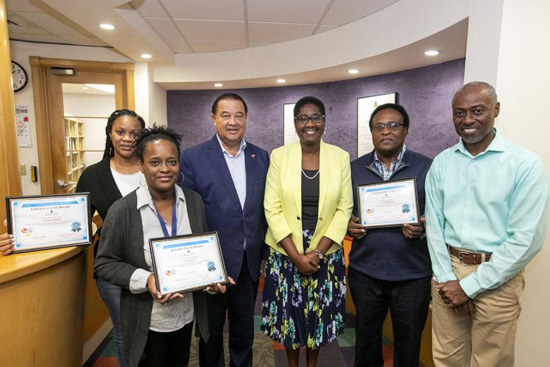 Labour Force Survey Interviewers Bermuda Nov 2019