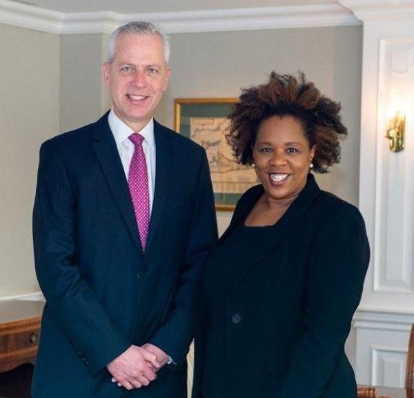 Michael Schrum and Myra Virgil Bermuda Nov 2019