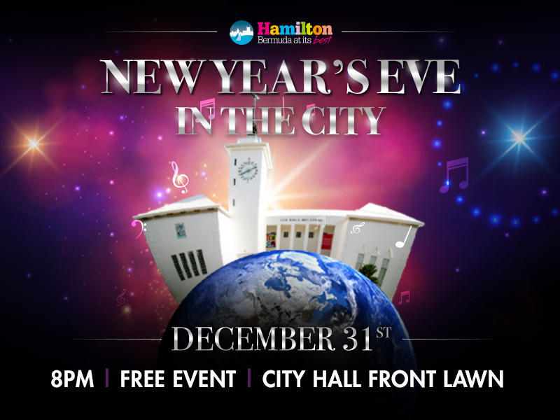 New Year's Eve in the City Bermuda Dec 2019