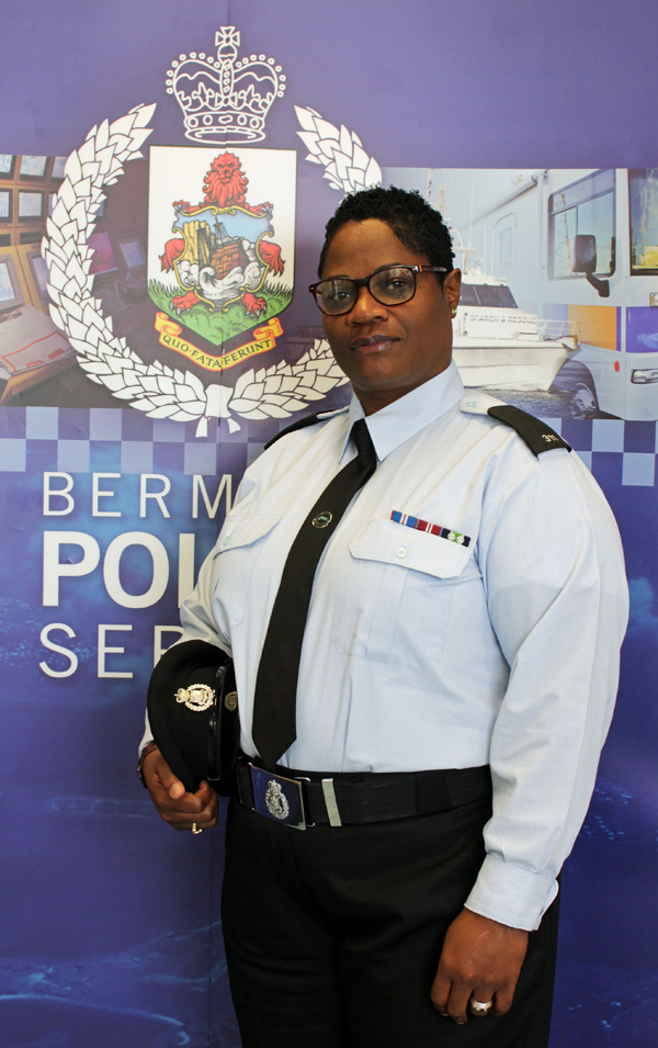 Paget Parish Constable Roseann Mienzer Bermuda Nov 2019