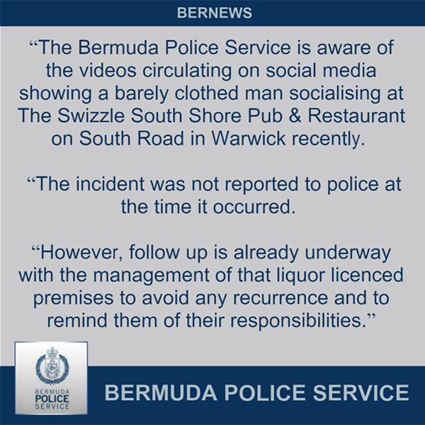 Police Bermuda Nov 7 2019