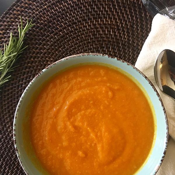 Pumpkin Soup Bermuda Nov 2019