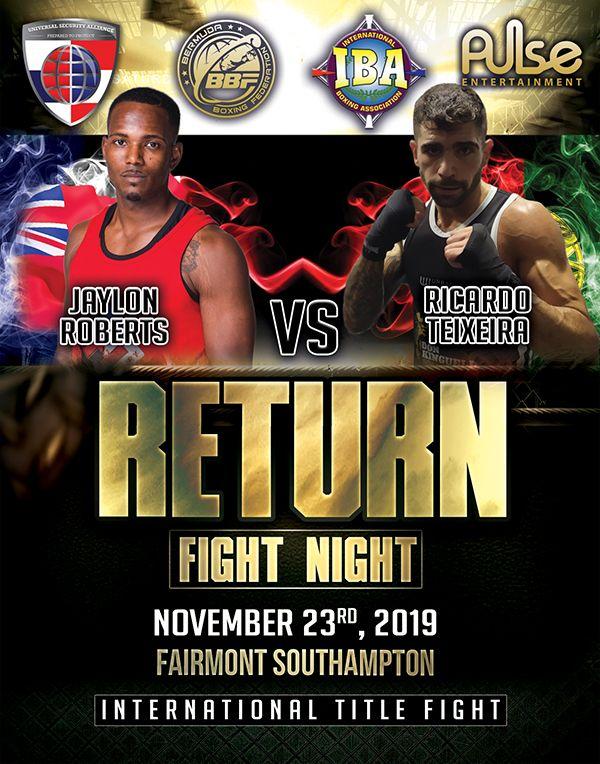 Return Fight Night Bermuda November 6 2019 (1)