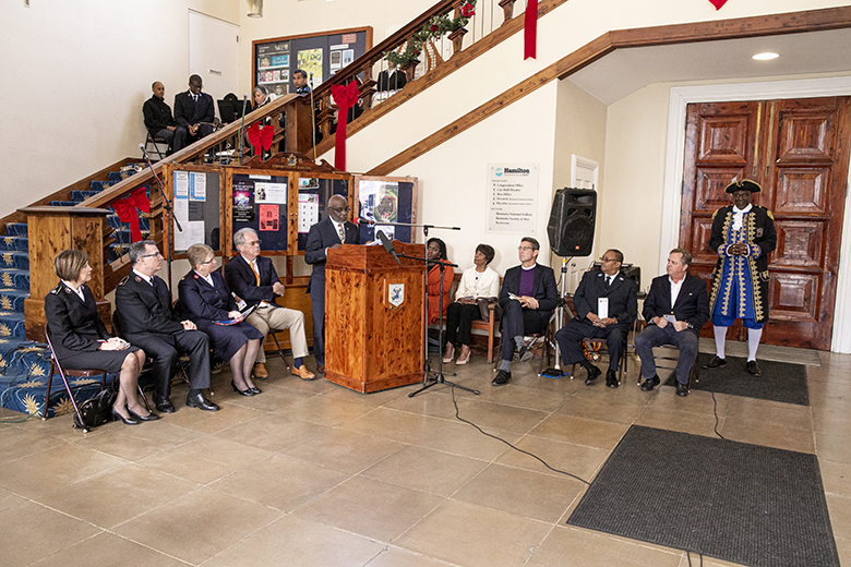Salvation Army Christmas Kettle Campaign Bermuda Nov 2019 (1)