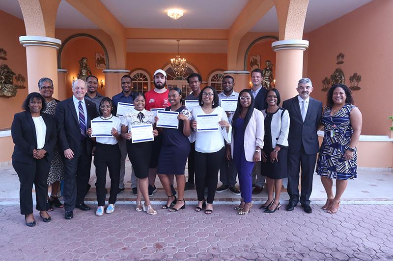 Scholarship Event Group Bermuda November 7 2019