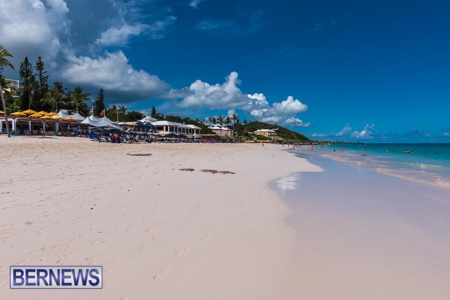 502 - A beautiful Bermuda beach day at Elbow Beach