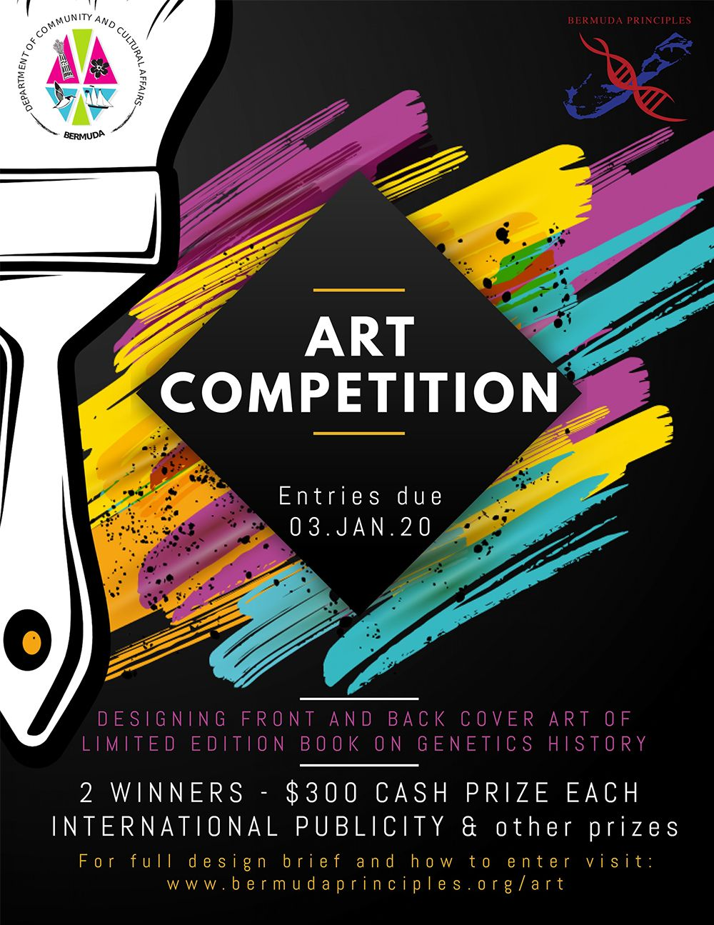 Art Competition Bermuda Dec 2 2019