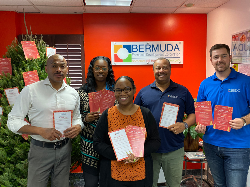 BEDC Christmas Eat, Shop, Play Bermuda Dec 2019
