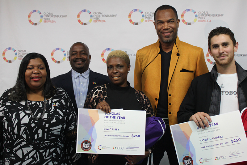 BEDC Entrepreneurship Education Awards Bermuda Dec 2019
