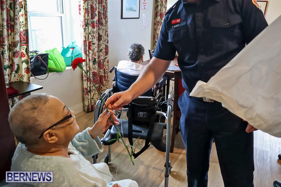 BFRS Bermuda Fire Rescue Service Christmas Community Visits Bermuda, December 25 2019-5-3