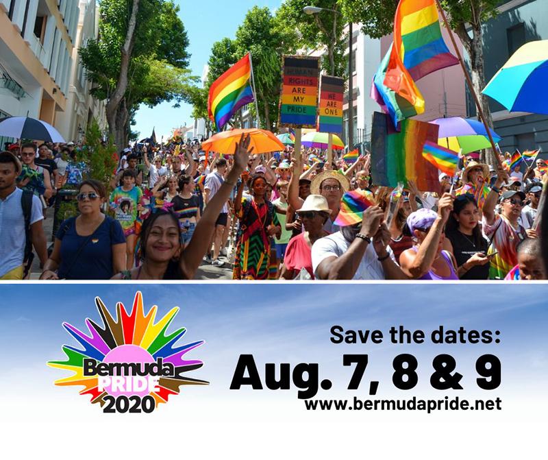 Bermuda Pride Parade Dec 2019