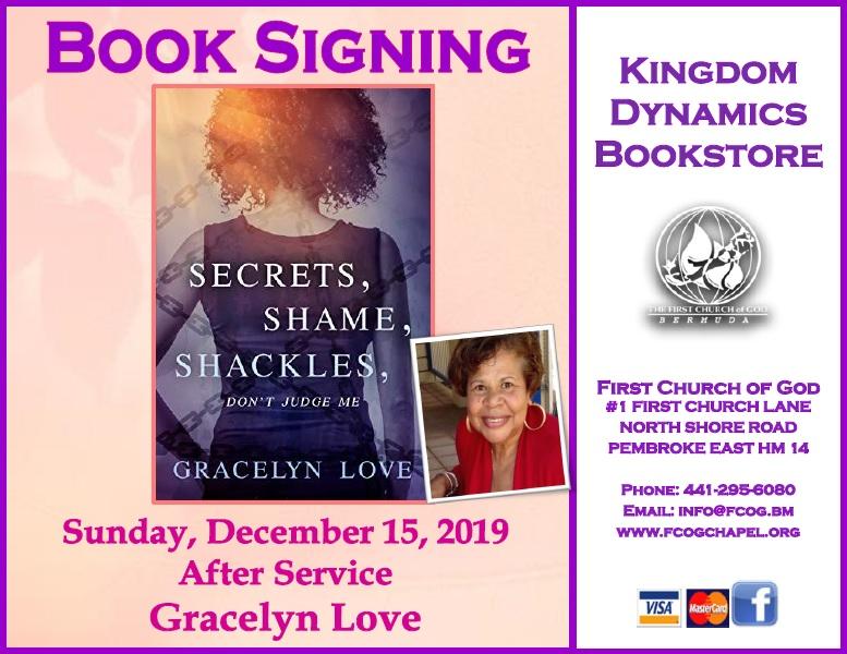 Gracelyn Love  Book Signing Bermuda Dec 2019