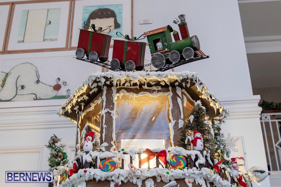 Hamilton Princess Hotel & Beach Club Gingerbread House Bermuda, December 1 2019-4845