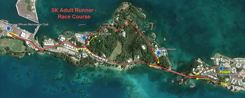 Jay Donawa Adult Course Map Bermuda DeC 2019