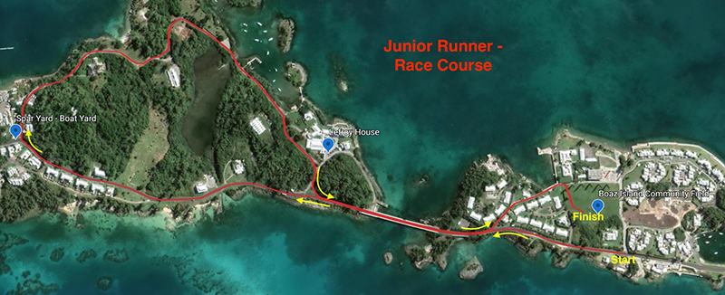Jay Donawa Children Course Map Bermuda Dec 2019