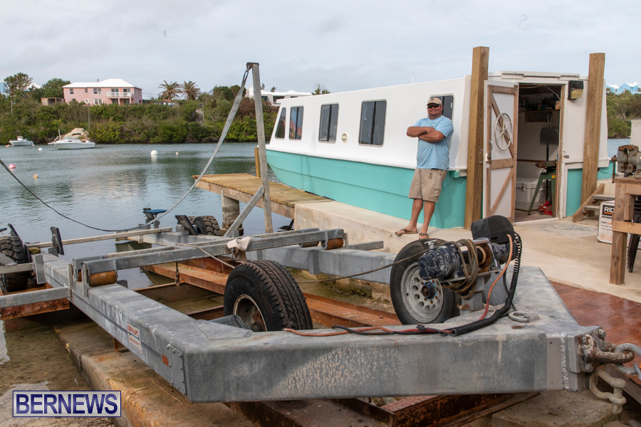 Shakedown Bottoms Up Boat Works Bermuda, December 14 2019-3869