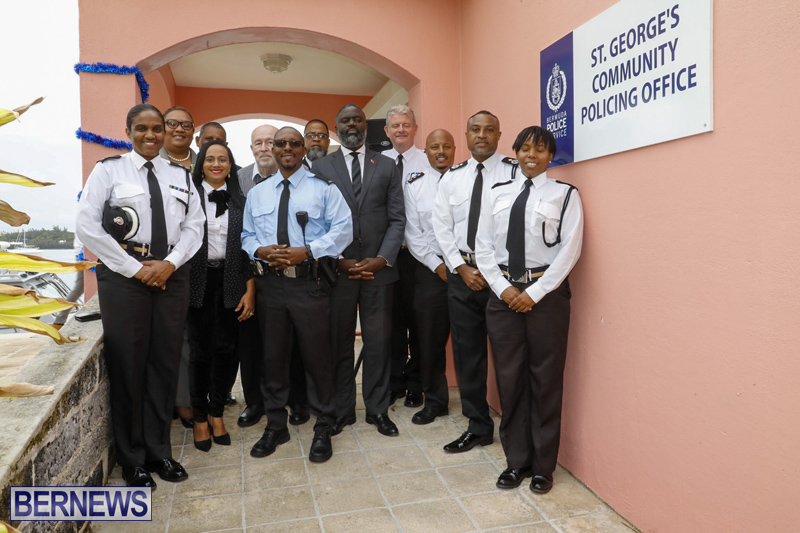 St George's Community Policing Office Bermuda Dec 2019