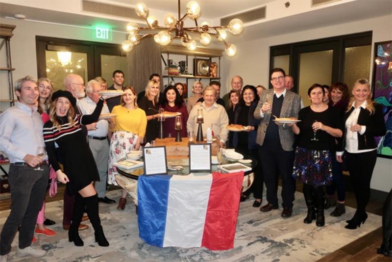 Alliance Francaise Galette Des Rois Bermuda Jan 2020 (1)