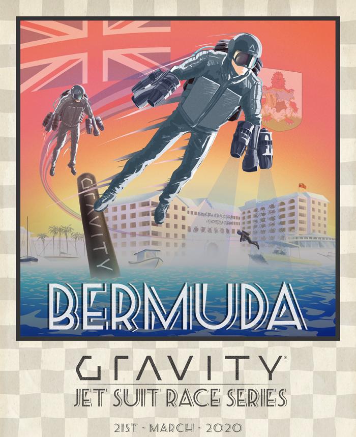 Bermuda Gravity Jet Suit Race Jan 2020