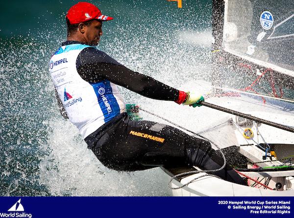 Bermuda sailors in World Cup Sailing Series in Miami Jan 2020 (1)