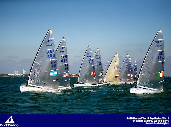 Bermuda sailors in World Cup Sailing Series in Miami Jan 2020 (3)
